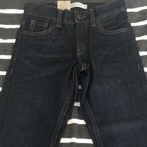 Levi Dark Blue Denim Slim Fit Jeans